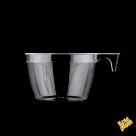 Chavena Plastico Cup Transparente 190ml (1000 Uds)