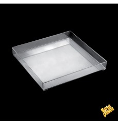 Bandeja Plastico Tray Transp. Ø32cm (1 Unidades)