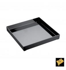 Bandeja Plastico Tray Branco 30x30cm (9 Unidades)
