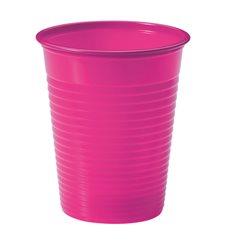 Copo de Plastico Fucsia PS 200 ml (1500 Unidades)