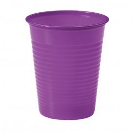 Copo de Plastico Violeta PS 200 ml (100 Unidades)