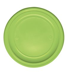 Prato Plastico Raso Verde PS 220 mm (780 Unidades)