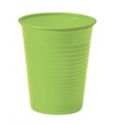 Copo de Plastico Verde PS 200 ml (1500 Unidades)