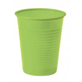 Copo de Plastico Verde PS 200 ml (50 Unidades)