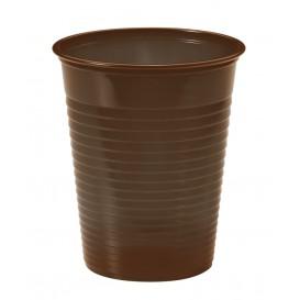 Copo de Plastico Marrom PS 200 ml (1500 Unidades)