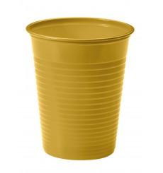 Copo de Plastico Ouro PS 200 ml (1500 Unidades)
