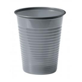 Copo de Plastico PS Prata 200 ml Ø7cm (50 Unidades)