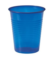 Copo de Plastico Azul Escuro PS 200 ml (1500 Unidades)