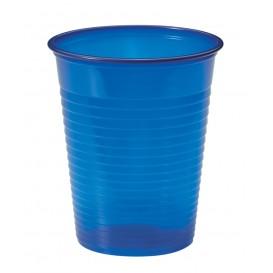 Copo de Plastico PS Azul Escuro 200ml Ø7cm (50 Unidades)