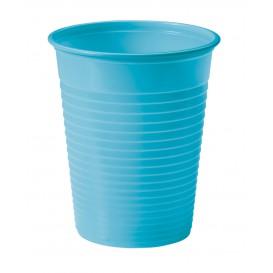 Copo de Plastico PS Turquesa 200ml Ø7cm (50 Unidades)
