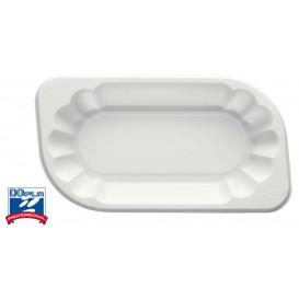 Bandeja Plastico PS Branco 250ml (250 Uds)