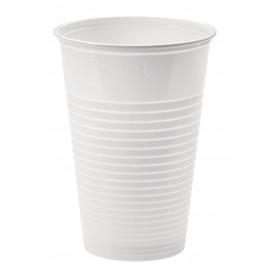 Copo de Plastico PP Branco 230ml Ø7,0cm (100 Unidades)