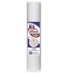 Copo de Plastico Branco PS 80ml (50 Unidades)