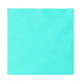 Guardanapos Papel 2 Folhas Azul Claro 33x33cm (1200 Uds)
