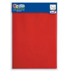 Toalhete Papel Mesa 1,2x1,8m Vermelho (24 Uds)