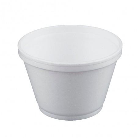 Taça Isopor Branca 6OZ/180ml Ø89mm (50 Unidades)