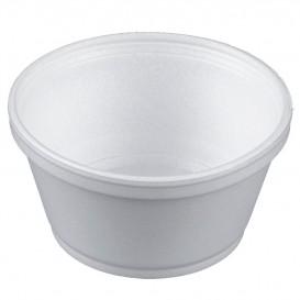 Taça Isopor Branca 8OZ/240ml Ø11cm (50 Unidades)