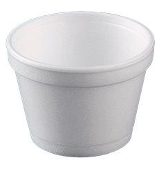 Taça Isopor Branca 8OZ/355ml Ø108mm (25 Unidades)