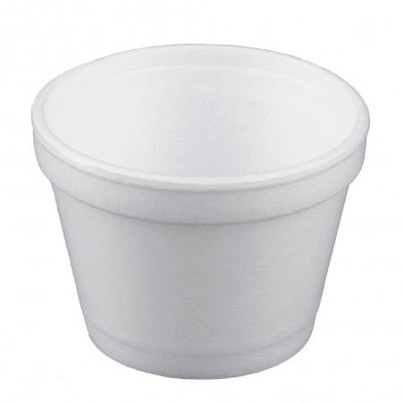 Taça Isopor Branca 4OZ/120ml Ø75mm (50 Unidades)
