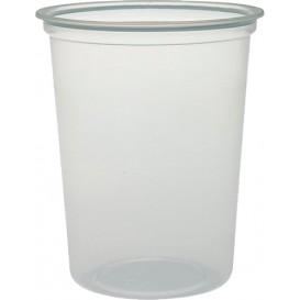 """Embalagem Plastico PP """"Deli"""" 32Oz/960ml Transp. Ø120mm (500 Uds)"""