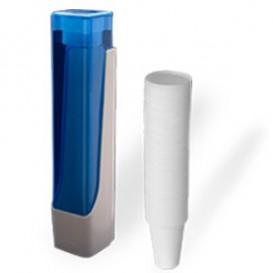 Pack Dispensador Copos + 800 Copos 220ml cor Branco