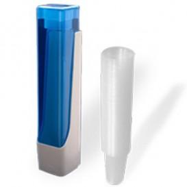 Pack Dispensador Copos + 800 Copos 220ml Transparentes