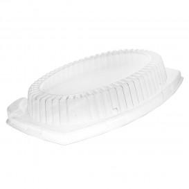 Tampa Plastico Transparente para Bandeja 280x220mm (125 uds)