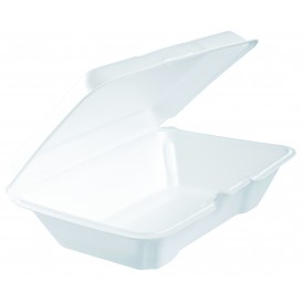 Embalagem Foam LunchBox Branco 230x150mm (200 Uds)