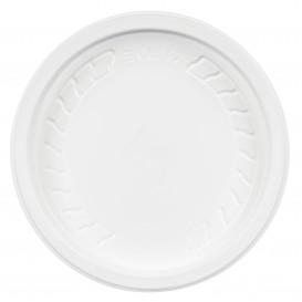 """Tampa Plastico PP """"Deli"""" Branco Ø120mm (50 Uds)"""
