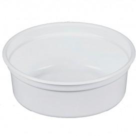 "Embalagem Plastico PP ""Deli"" 8Oz/266ml Branco Ø120mm (25 Uds)"