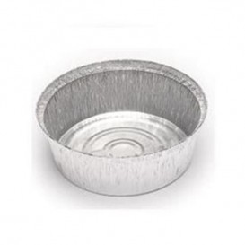 Embalagem Aluminio Redondo Frango 1900ml (125 Uds)