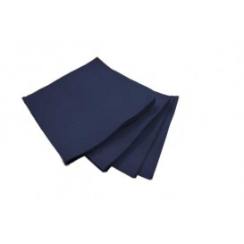 Guardanapos Papel Microdot Azul 20x20cm (100 Uds)