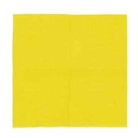 Guardanapos Papel Microdot Amarelo 20x20cm (100 Uds)