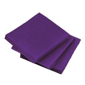 Guardanapos Papel Microdot Lilás 20x20cm (100 Uds)
