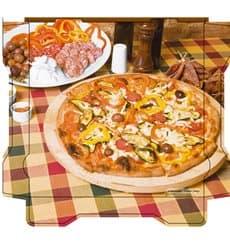 Caixa Cartão Pizza Al Bassanello Tavola 40x40x4,2 cm (100 Uds)