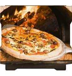 Caixa Cartão Pizza Al Bassanello Pala 33x33x4,2 cm (100 Uds)
