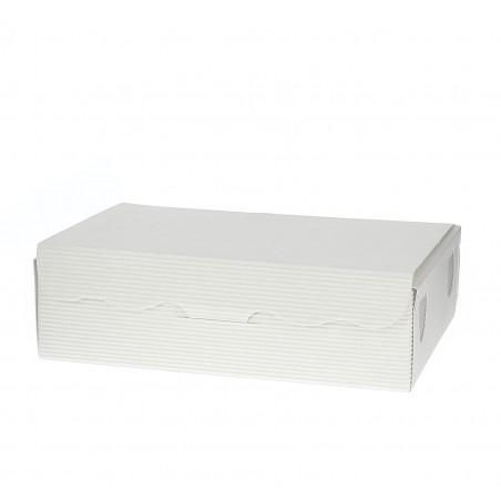 Caixa Bombons e Doces Branca 14x80x3,5cm 250g (50 Uds)