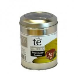 Chá Branco Morangos com Banana a Granel (100 Gramas)