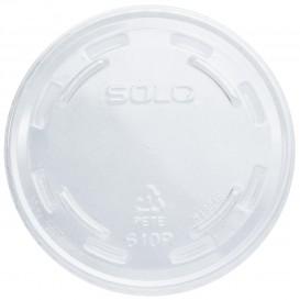 Tampa Fechada Para Copo PET Solo Ultra Clear 9Oz Alto Y 10Oz (100 Uds)
