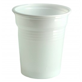 Copo de Plastico PS Branco 100ml Ø5,7cm (4800 Unidades)