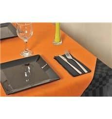 Toalha em Rolo Não Tecido Laranja 1,2x48m 50g (1 Ud)