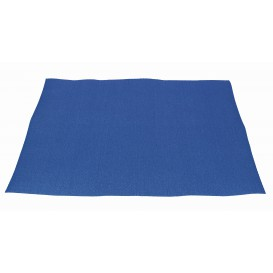 Toalhete Papel Mesa 30x40cm Azul 40g (1.000 Uds)