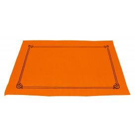 Mantelito de papel 300x400mm Naranja 40G (1.000 Uds)