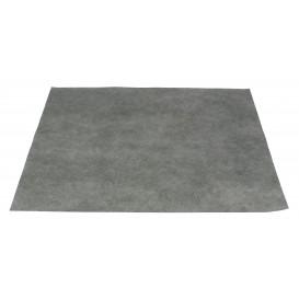 Toalhete Não Tecido Cinza 30x40cm 50g (500 Uds)
