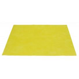 Toalhete Não Tecido Amarelo 30x40cm 50g (500 Uds)