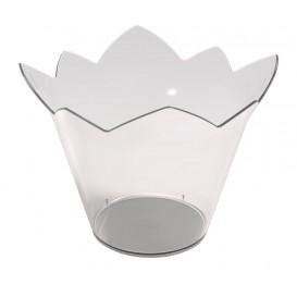 Tigela Degustação Waterlily Transparente 70 ml (25 Unidades)