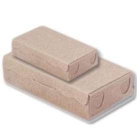 Caixa Bombons e Doces Kraft 20x13x5,5cm 1000g (50 Uds)