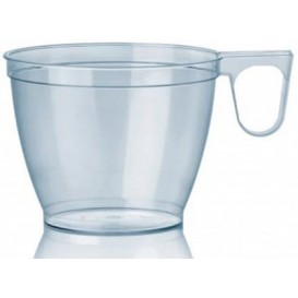 Chavena Plastico 180ml Transparente (50 Uds)