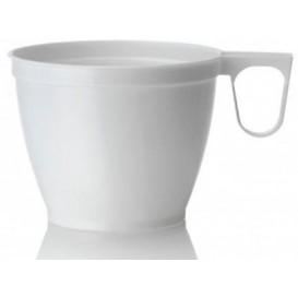 Chavena Plastico 180ml Branco (50 Uds)