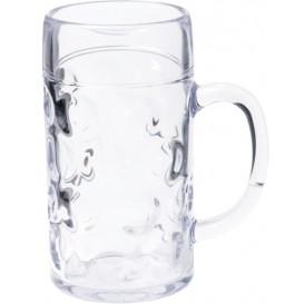 Caneja Reutilizáveis Cerveja SAN Ø105mm 1000ml (6 Uds)